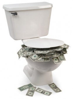 flush money