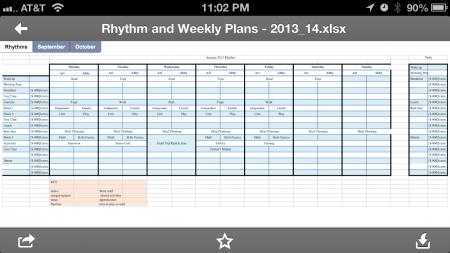daily_weekly rhythm