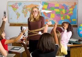 tie up teacher